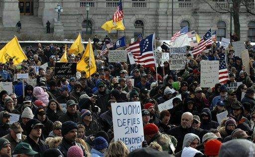 Gun Rallies NY