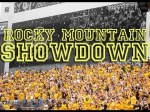 Rocky Mountain Showdown, T-Minus 1 week