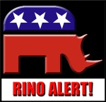 Watch out for the herd of RINO's through congress.  Congressional cowardice sinks Americans